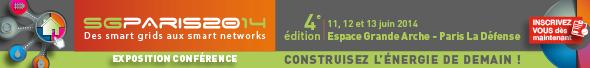 Expo-Conférence Smart Grids Paris 2014, du 11 au 13 juin à La Défense