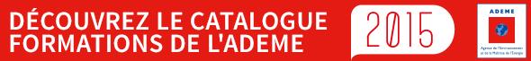 Découvrez le catalogue de formations Ademe pour 2015 !