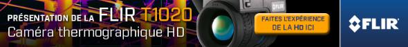 Découvrez la caméra thermographique HD, Flir T1020