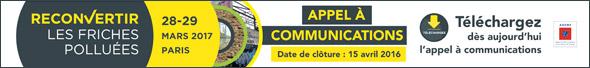 Soyez orateur officiel lors des journées techniques ''Reconvertir les friches polluées'' de l'ADEME