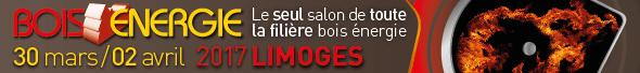 Salon Bois Energie du 30 mars au 2 avril à Limoges
