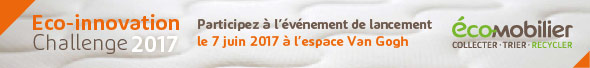 Eco-innovation challenge 2017 avec Eco-mobilier