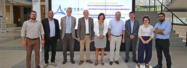 Centrale Nantes et EDYCEM pour le développement du béton durable